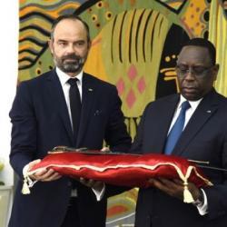 JDA - La restitution du sabre d'El Hadj Omar Tall par la France au Sénégal