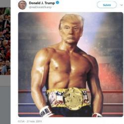 Pourquoi Donald Trump a-t-il le torse de Rocky ?