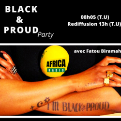Black and Proud Party - Régis Mutombo