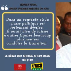 Le débat BBC Afrique - Africa Radio : Moussa Mara