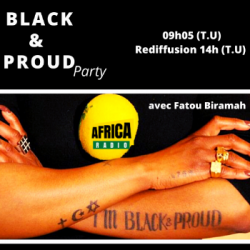 Black and Proud Party - Stéphanie Gomis
