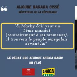 Le débat BBC Afrique - Africa Radio - Alioune Badara Cissé