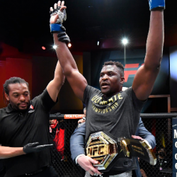 Black and Proud Party - Francis Ngannou