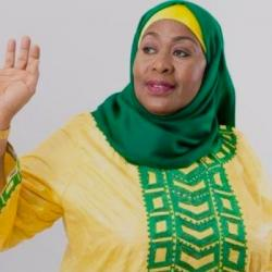 Black and Proud Party - Samia Suluhu Hassan