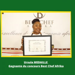 Ambiance Africa - Ursula Médaille (Best Chef Afrika)