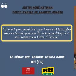 Le débat BBC Afrique - Africa Radio : Justin Koné Katinan