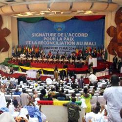 JDA - L'application de l'accord d'Alger au Mali