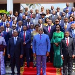 RDC, le gouvernement du Premier ministre Sama Lukonde fête ses 100...